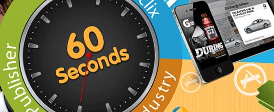 Il se passe quoi en 60 secondes sur un smartphone ?