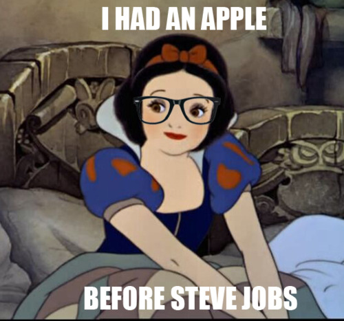 Snow White and the first Apple