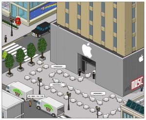 Les consommateurs sont des moutons selon Apple