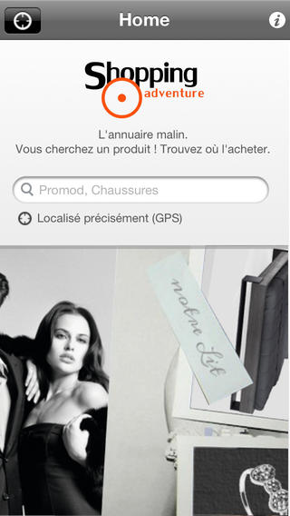 L'application Shopping Adventure en V2 1