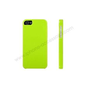 Concours : gain d'une coque iPhone 5 verte silicone
