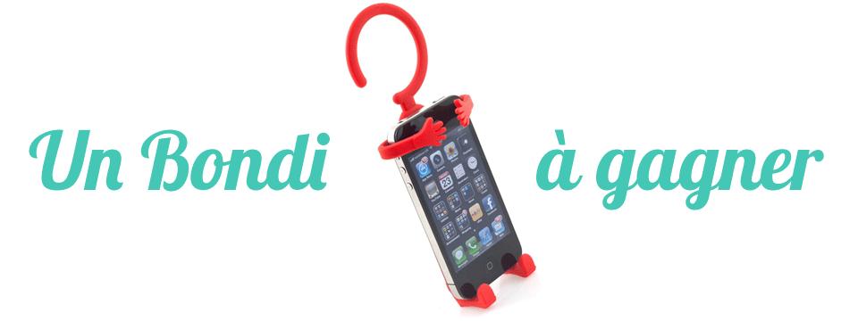 Bondi pour ton iPhone à gagner