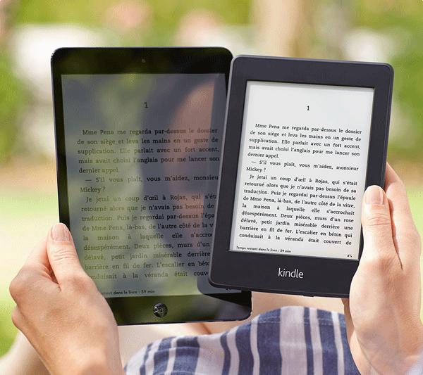 Kindle Paperwhite Amazon amélioration écran