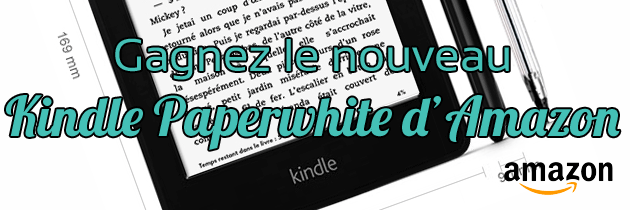 Kindle Paperwhite Amazon gratuit