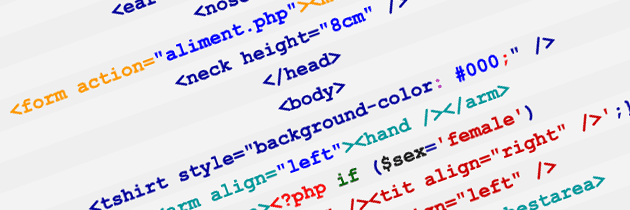 HTML PHP et corps humain