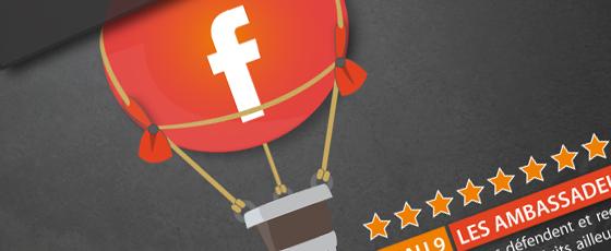 9 niveaux d'engagement pour les fans sur Facebook