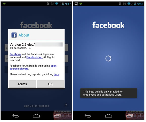 Facebook Phone et Home