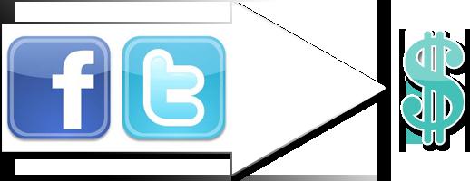 Facebook + Twitter = Rentabilité obligatoire ?