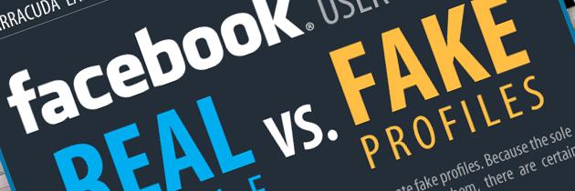 Facebook et fake profils