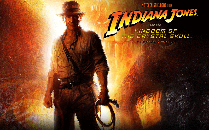 Indiana Jones manie le fouet