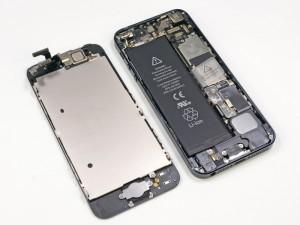Voilà l'intérieur de l'iPhone 5