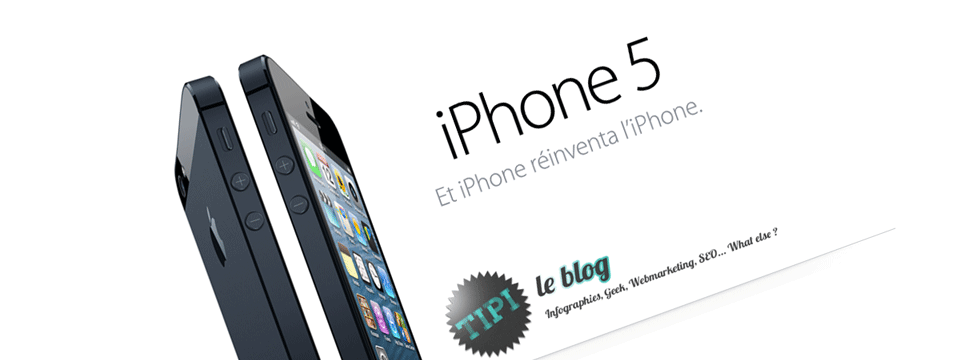 iPhone 5 lancé, merci Apple !
