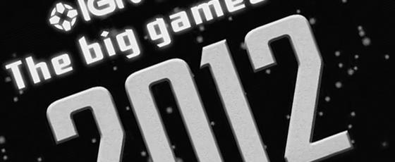 Les jeux vidéos de 2012