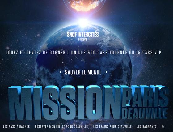 Mission Paris Deauville : prêt à sauver le monde ?