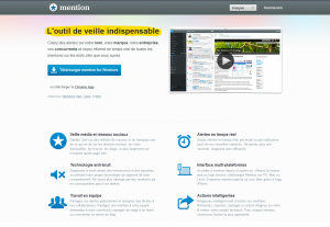 Outil gratuit de suivi d'e-réputation en temps réel : Mention