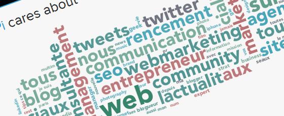 Ton profil Twitter Facebook en infographie