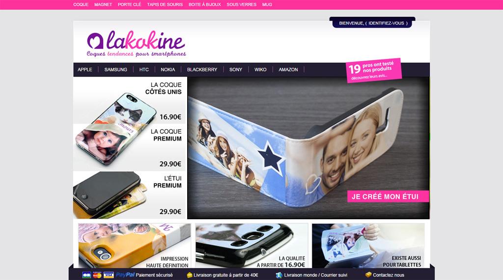 Site Lakokine.com