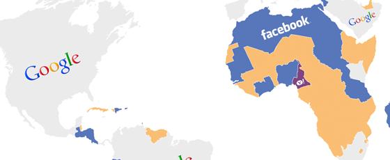 Trafic mondial et sites populaires