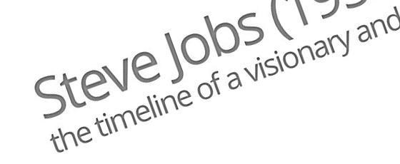 Hommage à Steve Jobs