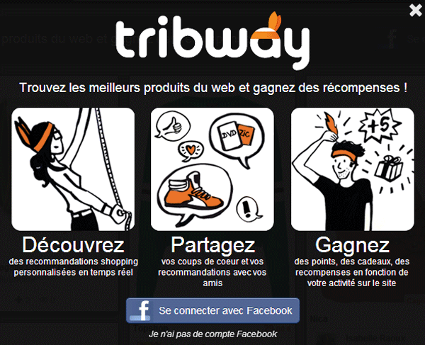 Tribway social shopping