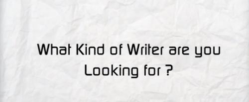 Vous cherchez quel type de rédacteur web ?