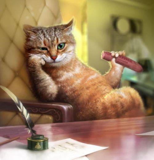 Rédacteur chat