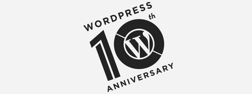 WordPress 10 ans